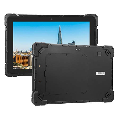 Goshyda Tableta Industrial de 10.1 Pulgadas, F7R 4 + 64G 10.1 Pulgadas RK3399 Tableta ultradelgada de Grado Industrial 3 a Prueba para Sistema Android 110-240V(EU)