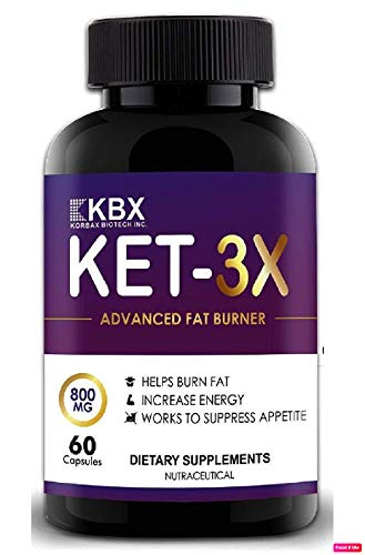 KORBAX Fat Burner for men and women and weight loss Capsules supplements. Keto Formula/Lean Cutz body Slimming tablet/Pills. Keto Friendly (60 Capsules) Fat Cutter