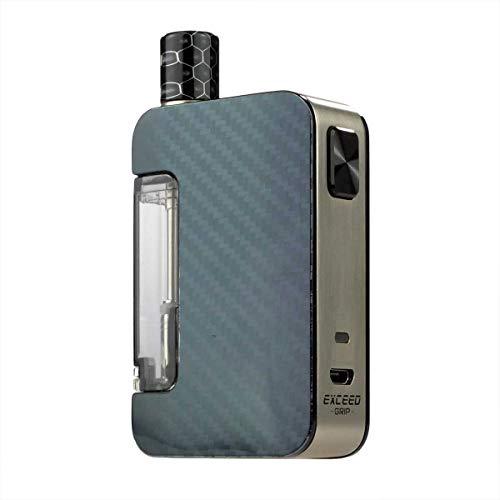 Joyetech Exceed Grip Kit (1000 mAh, Pod-System 3,5 ml / 4,5 ml, Riccardo e-Zigarette, carbon black) 1er Pack