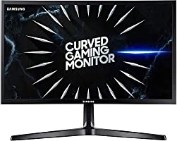 "Samsung C24RG52 Odyssey Monitor Curvo da 24"", Pannello VA, Full HD 1.920 x 1.080, 144Hz, 4 ms, Freesync, 2 HDMI, 1..."