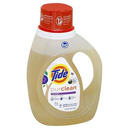 Tide Purclean Honey Lavender Liquid Laundry Detergent, 37 Ounce