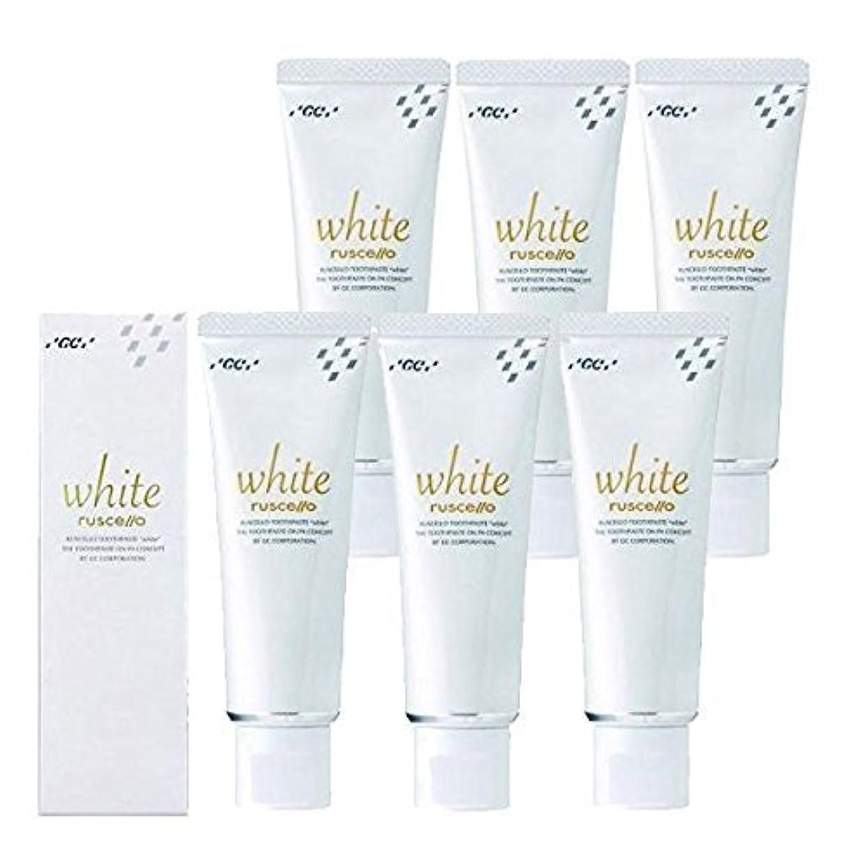 主要なアシュリータファーマン保護するルシェロ歯磨きペースト ホワイト 100g×6本 ホワイトニング 歯磨き粉 歯科専売品