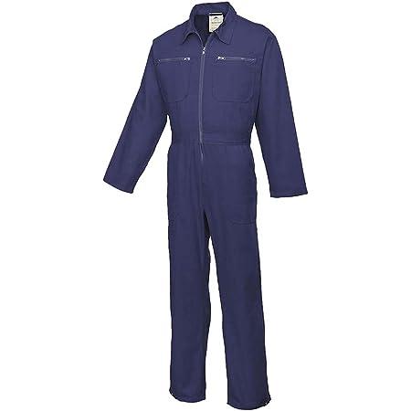 Portwest Cotton Boilersuit, Colour: Navy, Size: XL, C811NARXL