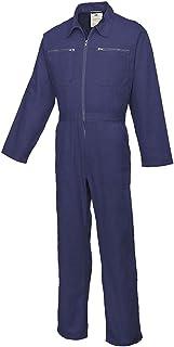 Portwest Cotton Boilersuit, Colour: Navy, Size: M, C811NARM