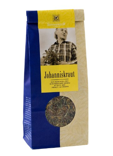 Sonnentor Tee Johanniskraut lose, 2er Pack (2 x 60 g) - Bio