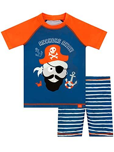 Harry Bear Jungen Zweiteiliger Badeanzug Pirat Blau 122