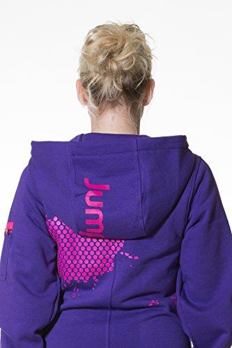 Jumpster Damen und Herren Jumpsuit Langer Overall First G. Slim Fit Pink - 3