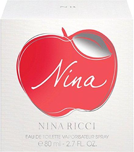 Nina Ricci Nina Eau de toilette pour femme en flacon vaporisateur, 80 ml