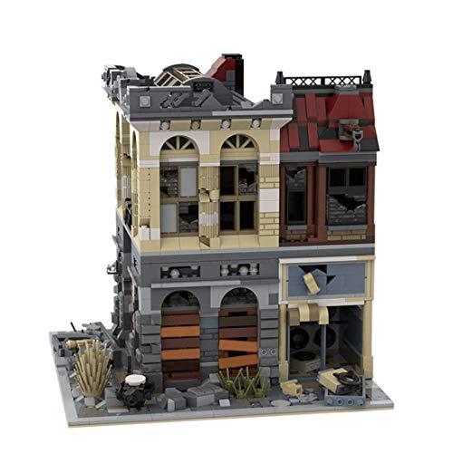 CYGG Conjunto de Edificios de casa de Aguas perdidas de Apocalypse, Vista Modular de Moc Street View Compatible con Lego House - 2500 PCS