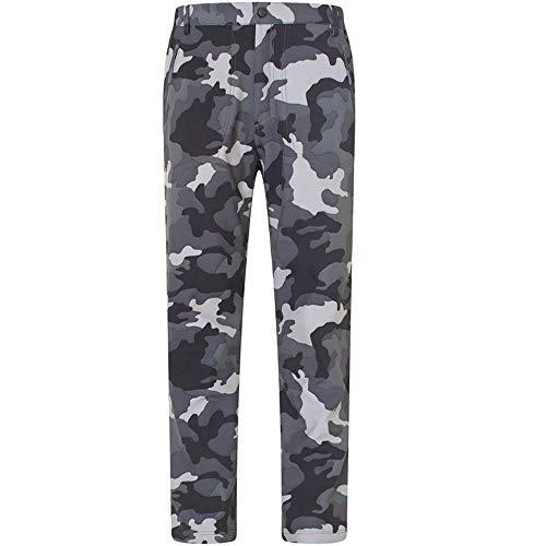 O&K Soft Shell Doublure en Polaire Randonnée Pantalon extérieur imperméable Respirant Épaissir Pantalon d'escalade Chaud de Marche d'automne d'hiver d'homme,Style 2,M