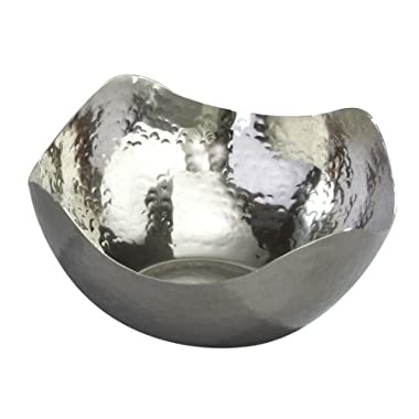 Elegance Hammered 6-Inch Stainless Steel Bowl
