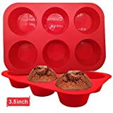 Best Muffin Pans - WALFOS BPA Free Silicone Jumbo Cupcake Pans Review