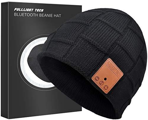 Upgraded Bluetooth Beanie Hat Headphones Wireless Headset Winter Music Speaker Hat Knit...