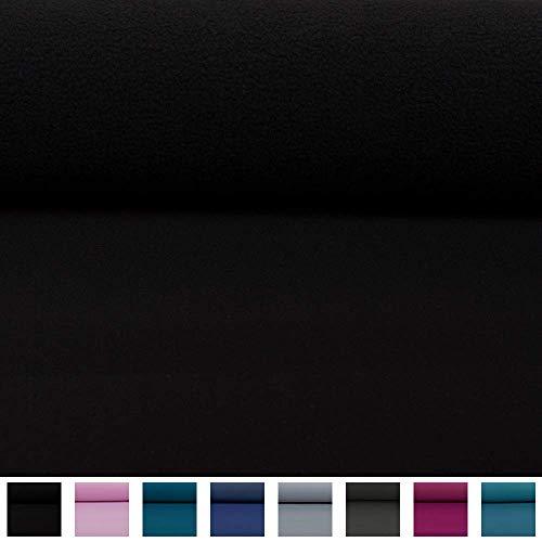 Swafing Wasserabweisender Nano Softshell Programm Lenny schwarz (25cm x 140cm)