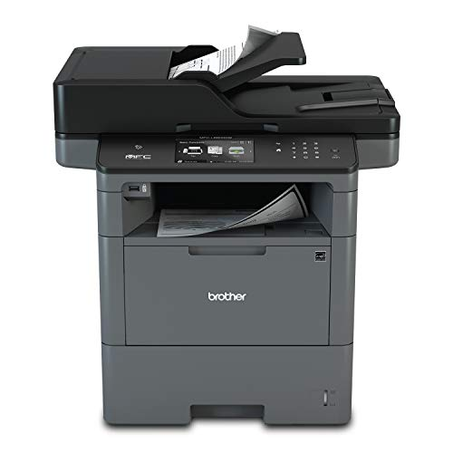 Brother Monochrome Laser, Multifunction, All-in-One Printer, MFC-L6800DW, Wireless Networking, Mobile Printing & Scanning, Duplex Print, Scan & Copy, Amazon Dash Replenishment Ready, Black