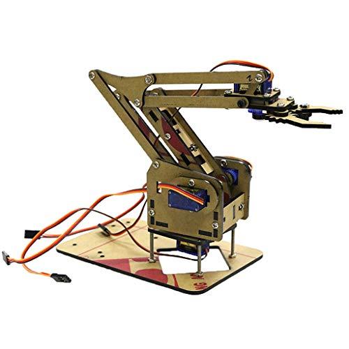 Robot Brazos Mecánicos con Garra 4 DOF con Control Remoto Inalámbrico o con Engranaje de Dirección - Simple mecánico Brazo