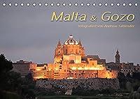 Malta & Gozo (Tischkalender 2022 DIN A5 quer): Stimmungsbilder der Mittelmeerinseln (Monatskalender, 14 Seiten )