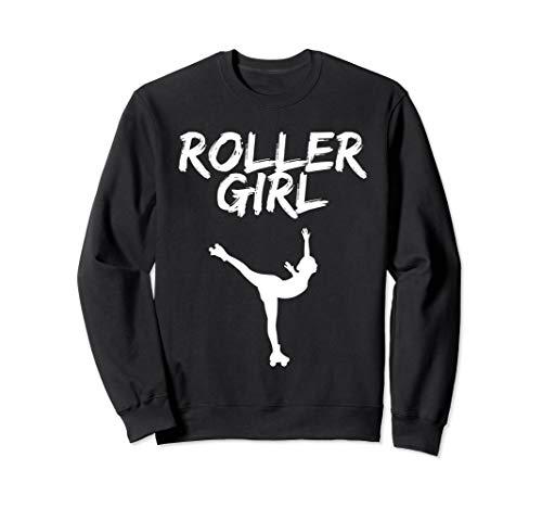 Roller Girl Shirt Rollkunstlauf. Für Rollschuh Mädchen Sweatshirt