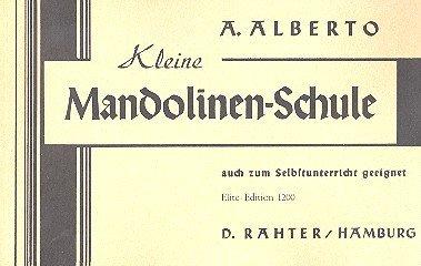 Kleine Mandolinenschule: Mandoline.