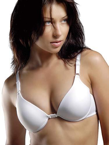 No Padding Bras for Women - Womens Bra - Tshirt Bras for Women (38, White)