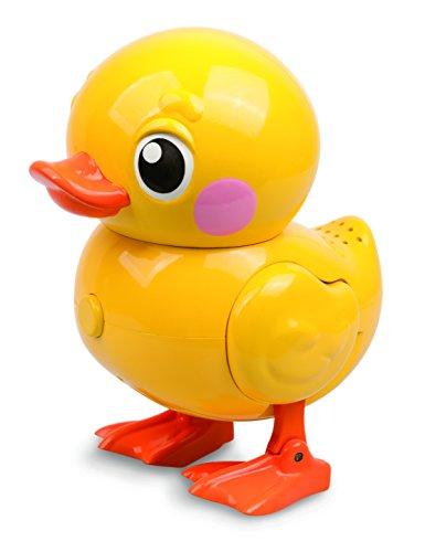 Goliath 32683 - Robo Alive Ente, Lebensechte Bewegungen, Schwimmt im Wasser und läuft an Land, Wasserspaß für Kinder, elektronisches Bade-Spielzeug, ab 18 Monaten