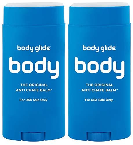 Body Glide Original Anti-Chafe Balm, 2.5oz, Pack of 2