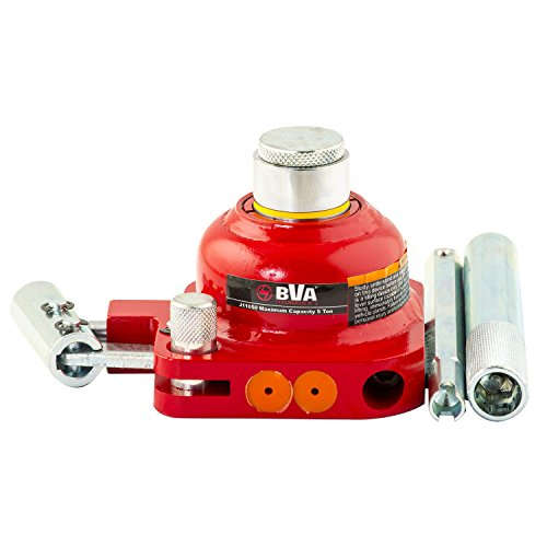 "BVA-Hydraulics J11050 Mini Bottle Jack, 5 Tons, 0.75"" Stroke, 5"" Height"