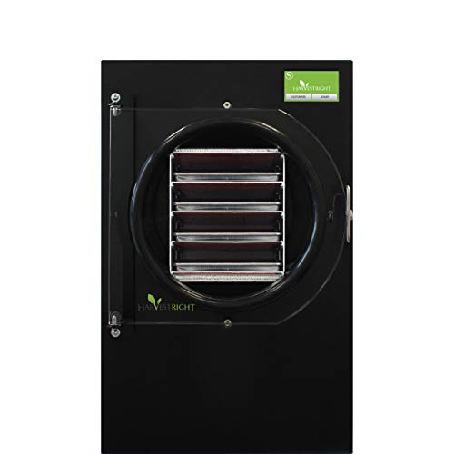 Harvest Right Freeze Dryer - The Best Way to Preserve Food - Food Dehydrator, Medium Size, Black Color