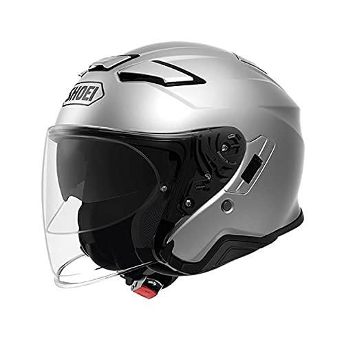 SHOEI ジェット ヘルメット J-Cruise ll ジェイクルーズ ツー バイク用品 ショーエイ ショーエー ショウエイ ヘルメット (ライトシルバー, L)