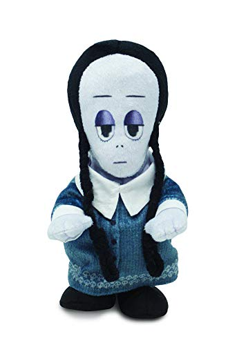 Cuddle Barn   Addams Family Animated Plush Collectible   Fun Walking Doll Toy for Movie Fans and Halloween   Plays The Addams Family Theme Song … (Wednesday Runner)