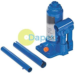 Dapetz Ton Heavy Duty Hydraulic Bottle Jack Lifting Ram Car Van Boat Caravan