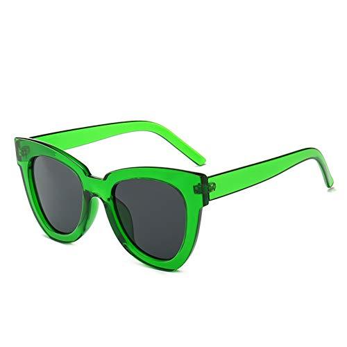 N/A AliExpress Occhiali esplosivi personalità della Moda Occhiali da Sole Irregolari Moda Street Shooting Big Frame Cat Eye Occhiali da Sole Donna