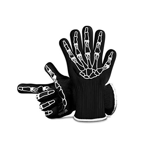 ZFZ Handschuh, Handschuhe, Handschuh, Handschuhe verdickte Hochtemperatur Handschuhe Mikrowelle Handschuhe Barbecue Brot Isolierung Backen Backofen Box Mikrowellenherd