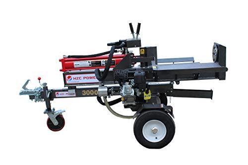HZC Power HS30244 - Cortador de leña (30 toneladas)
