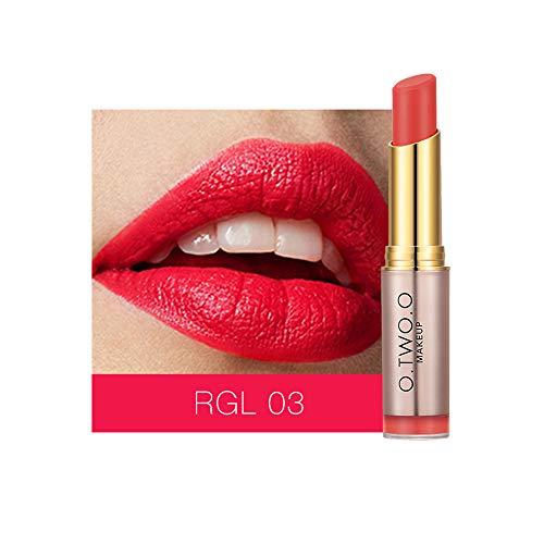 Anself Lippenstift Matte Langlebige Lipgloss Samt Lippenbalsam Feuchtigkeitsspendende Lippenstifte