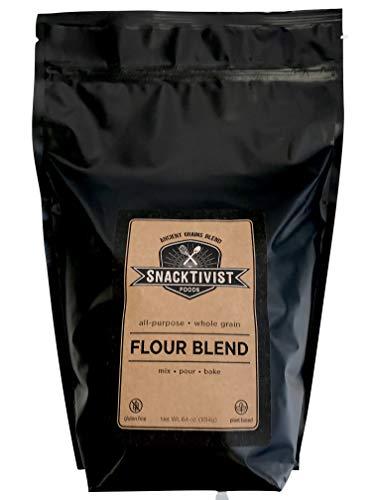 Snacktivist Foods Gluten Free Flour Blend Baking Mix, Non-GMO (4 pound bag)