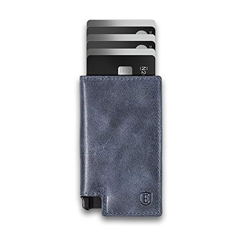 Ekster Parliament - Slim Leather Wallet - RFID Blocking - Quick Card Access