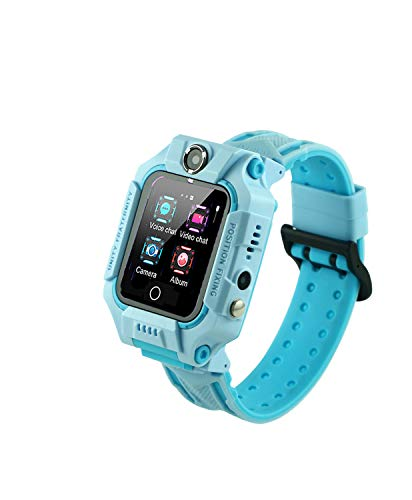 Sekyo Spin AGPS/LBS Smart Watch for Kids, SOS, GPS Tracker, Voice Call, Voice Chat, Geo Fence, Remote Monitoring, Camera, Safety for Kids