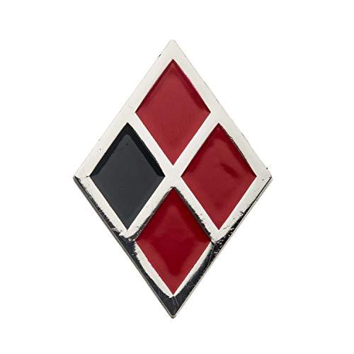 dc comics Birds of Prey Harley Quinn Diamond Logo Enamel Collector Pin