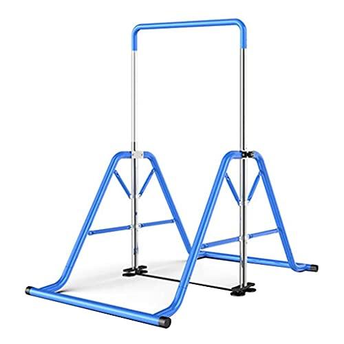 Barras de gimnasia Kip expandibles para niños Barra horizontal plegable para el hogar con barra de práctica de altura ajustable Barra de entrenamiento junior para niños, niños, soporte para adultos h
