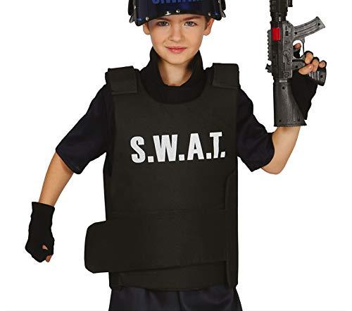 babero bebé chaleco antibalas de SWAT