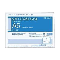 コクヨ カードケース クリアケース 軟質タイプ 塩化ビニル A5 クケ-65