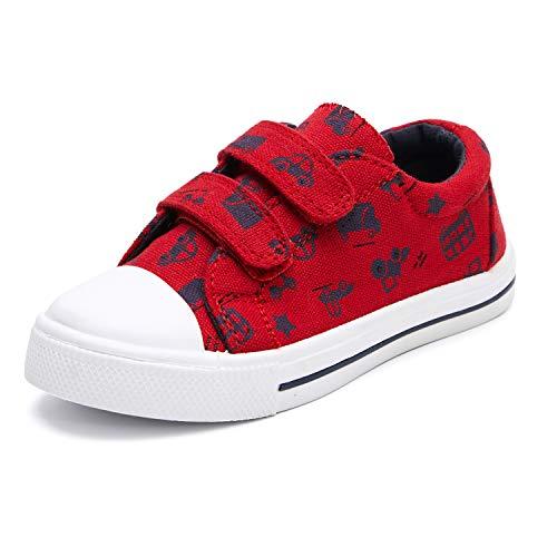 KKomForme Baby Sneakers for Boys and Girls,Kids Soft Walking Shoes, Car, 6 Toddler