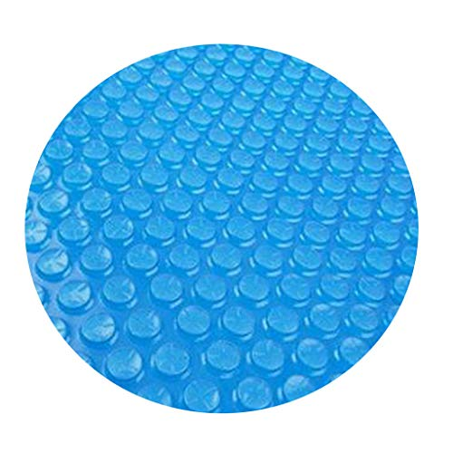 Jialili 10ft/12ft Pool Cover Dust Protector, Round Above Ground Inflatable Swimming Pool Cloths, Solar Cover for Round Frame Pools, Round Pool Cover Protector Heat Retaining Blanket (10feet)