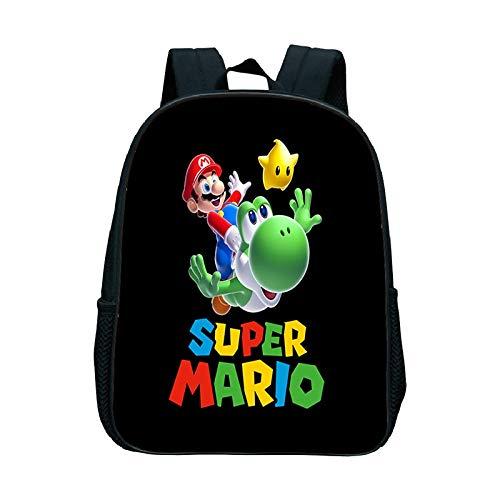 Mario Cartoon Schoolbag Dabbing Super Mario Bros School Bag Children Toddler Backpack Boys Girls Primary Kindergarten Backpack Kids Best Gift