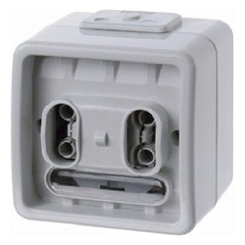 Berker Taster-BA 75192000 2-fach, AP AQUATEC;INSTABUS KNX/EIB Bussystem-Tastsensor 4011334211471