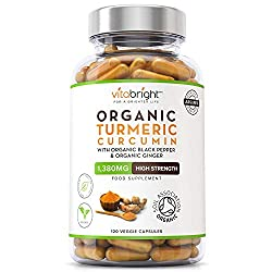 ✔ HIGH STRENGTH PREMIUM QUALITY INGREDIENTS: Not only is our Turmeric Curcumin Supplement of the highest quality, all of our ingredients are Certified Organic with each dose containing 1260mg of Turmeric Curcumin. We never use any binders or fillers....