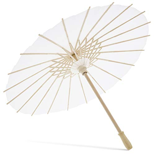 FTVOGUE Handmade Oiled Paper Umbrella Chinese Art Classical Dance Performance Decor