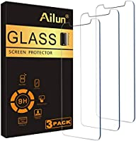 Ailun Screen Protector Compatible iPhone 11 Pro Max/iPhone Xs Max (6.5inch),[3 Pack],0.33mm Tempered Glass, Siania...