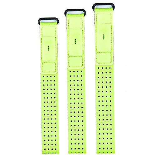 Chofit Sportarmband kompatibel mit Fitbit Inspire 2/Inspire HR/Charge 4/Charge 3/Charge/Alta/Alta HR/Flex/Fitbit One, Armband, Knöchelband, Zubehör, Limettengrün